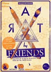 affiche/visuel « ART by Friends »