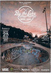 affiche/visuel « By the Lake BMX Jam »