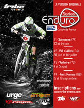 affiche/visuel « Enduro Series 2012 #2 / Coupe de France 2012 Enduro VTT »