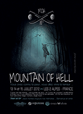 affiche/visuel &#171; Mountain of Hell&nbsp;- 13<sup>th</sup> Edition &#187;