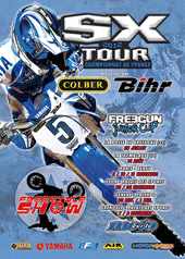 affiche/visuel « SX Tour 2012 - Championnat de France Supercross #1 »