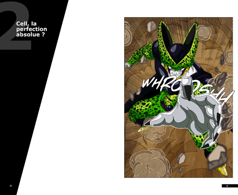 Trunks vs Cell, la revanche - pages CA-CA