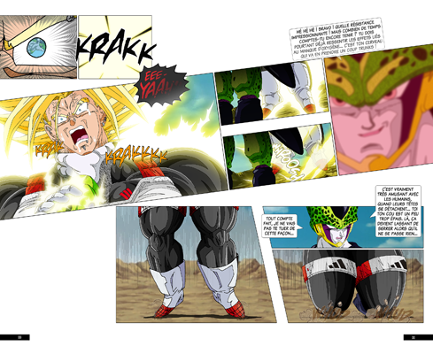 Trunks vs Cell, la revanche - pages CA-CB