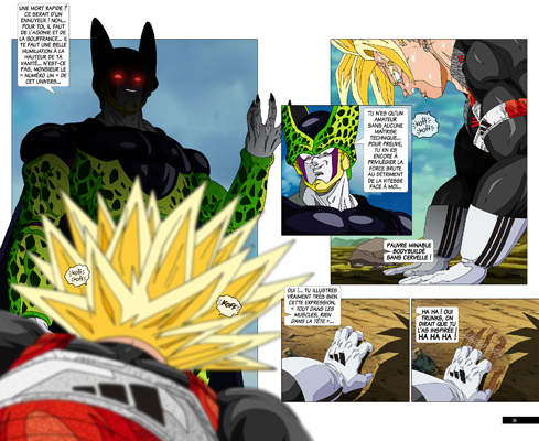 Trunks vs Cell, la revanche - pages CB-CB
