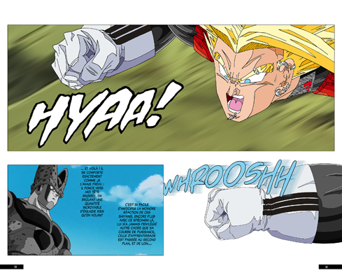 Trunks vs Cell, la revanche - pages CF-CG