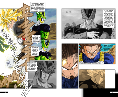 Trunks vs Cell, la revanche - pages FA-FB