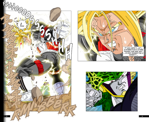 Trunks vs Cell, la revanche - pages FB-FC