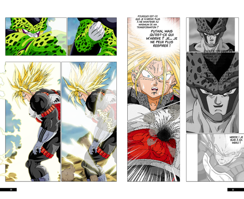 Trunks vs Cell, la revanche - pages FC-FD