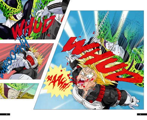 Trunks vs Cell, la revanche - pages FD-FD