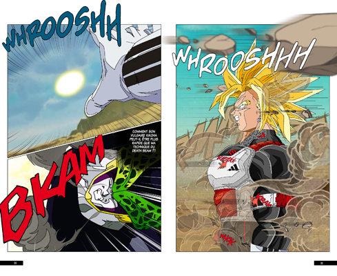 Trunks vs Cell, la revanche - pages HC-HD