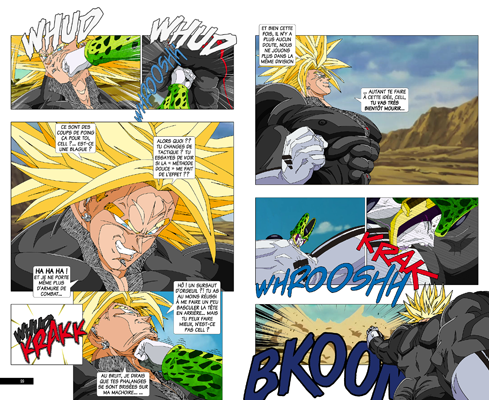 Trunks vs Cell, la revanche - pages IB-IB