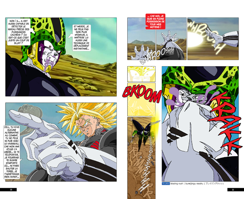 Trunks vs Cell, la revanche - pages KB-KB