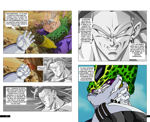 Trunks vs Cell, la revanche - pages KD-KD