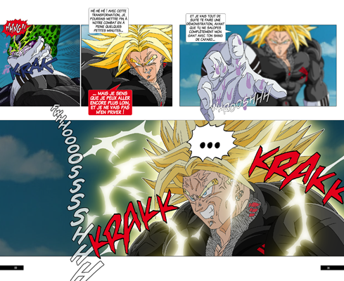Trunks vs Cell, la revanche - pages KY-KZ