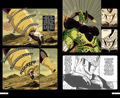 Trunks vs Cell, la revanche - pages MG-MG
