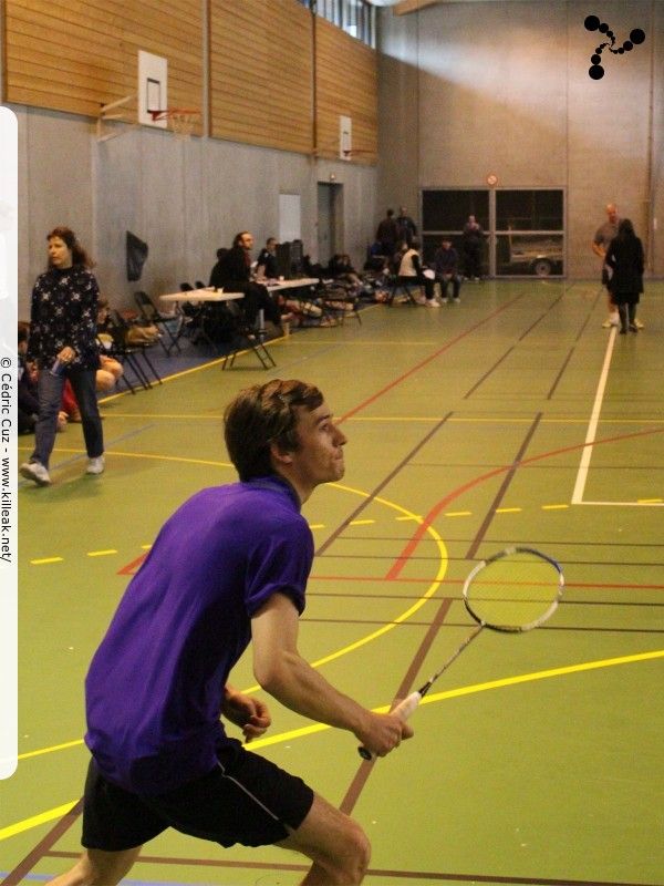 « 18e BOC Flight - Tournoi International de Badminton Challes-les-Eaux » – mots associés : badminton, beausse