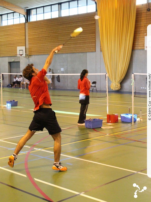 « 18e BOC Flight - Tournoi International de Badminton Challes-les-Eaux » – mots associés : badminton, colomb