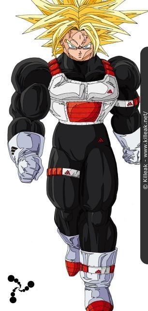 Fan Art Dragon Ball Z Trunks Vs Cell Autres Contenus
