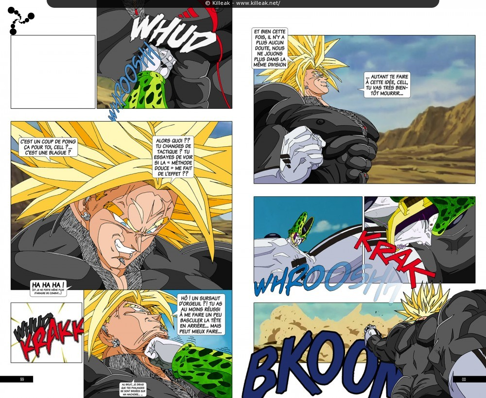 Fan Art Dragon Ball Z : Trunks Vs Cell / Page 5 / Autres
