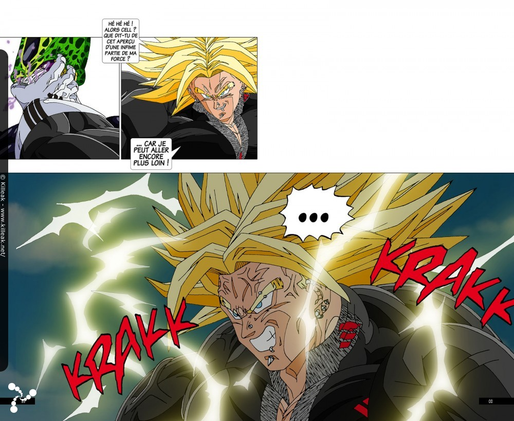 Fan Art Dragon Ball Z : Trunks Vs Cell / Page 6 / Autres