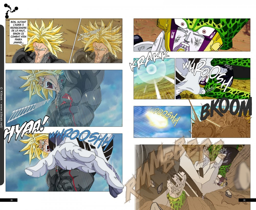 Fan Art Dragon Ball Z : Trunks Vs Cell / Page 7 / Autres