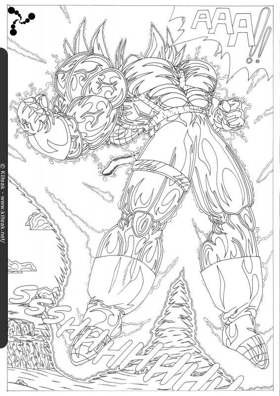 Fan Art Dragon Ball Z Trunks Vs Cell Page 6 Autres
